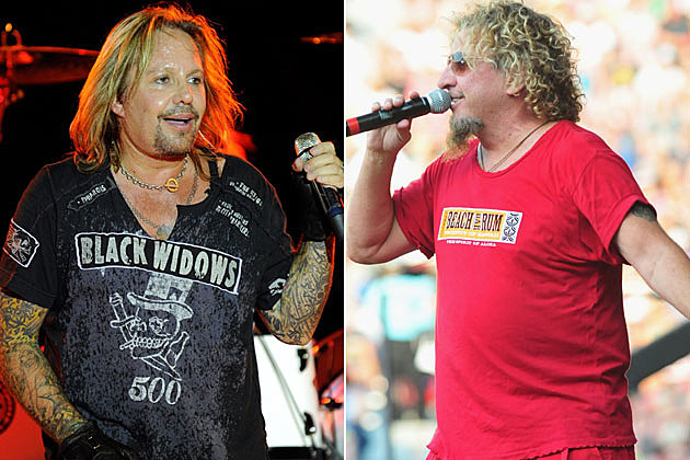 Vince Neil and Sammy Hagar