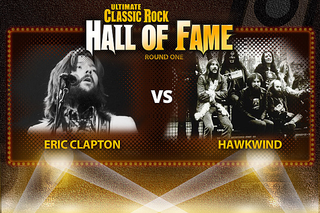Eric Clapton Vs. Hawkwind
