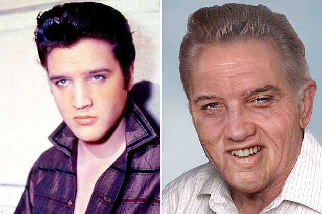 What would Elvis Presley look like if were still alive