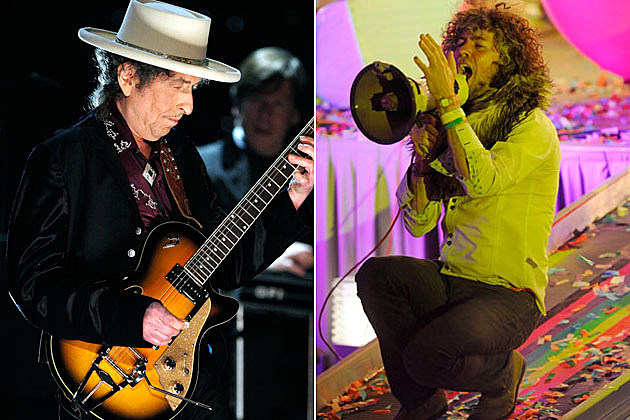 Bob Dylan and Wayne Coyne
