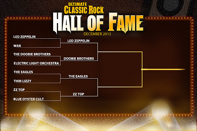 December 2013 Hall of Fame Bracket
