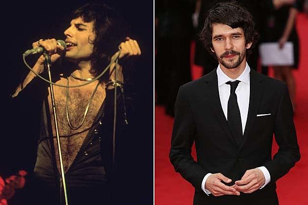 Freddie Mercury Ben Whishaw