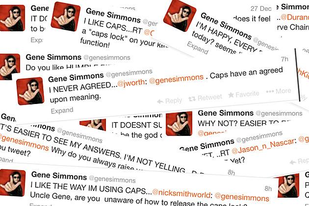 Gene Simmons Twitter War