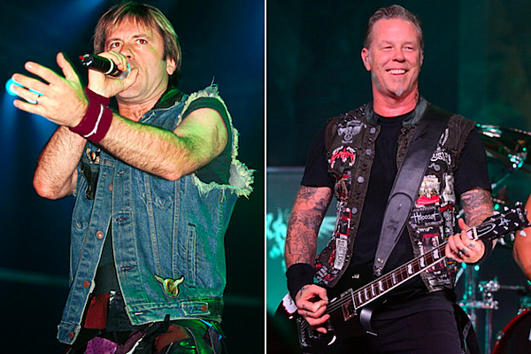 metallica and iron maiden team up to headline sonisphere. Black Bedroom Furniture Sets. Home Design Ideas
