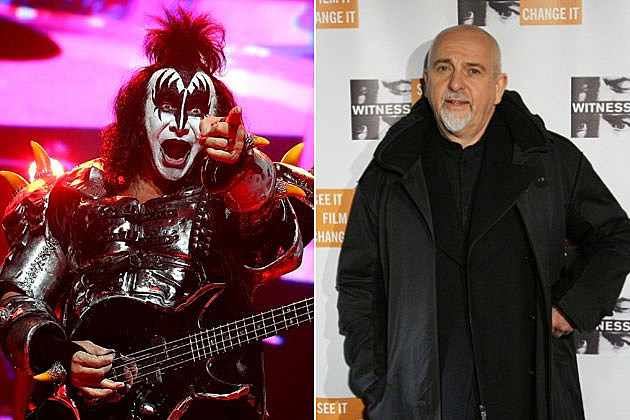 Kiss and Peter Gabriel