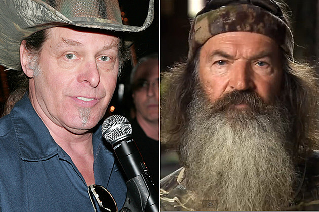 Ted Nugent Phil Robertson