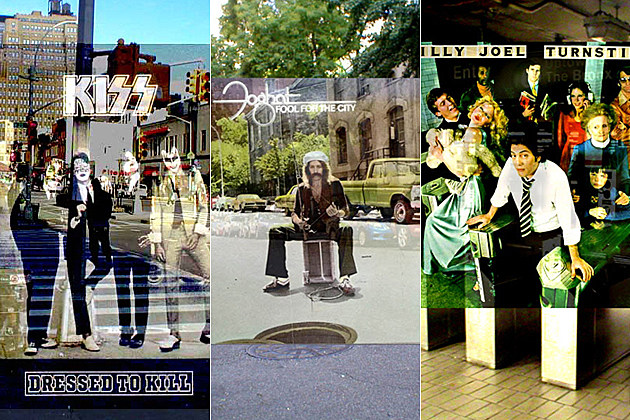New York City Album Cover Locations