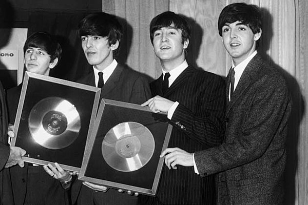 Beatles Different Record Labels
