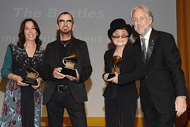 Ringo Starr, Yoko Ono, Olivia Harrison