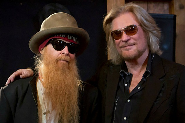 Billy Gibbons and Daryl Hall