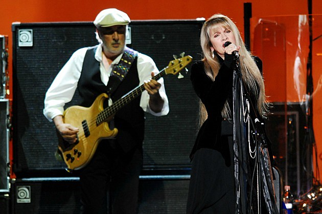 John McVie and Stevie Nicks