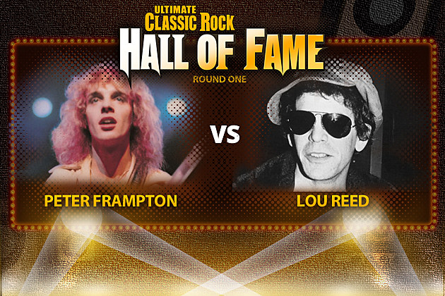 Peter Frampton and Lou Reed