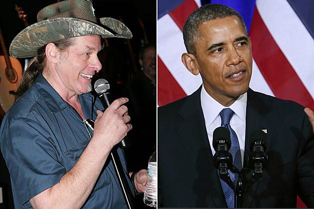 Ted Nugent Barack Obama