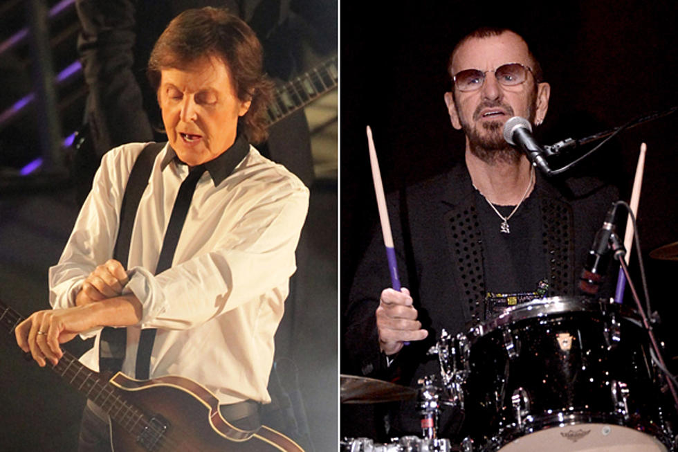 Paul McCartney And Ringo Starr Will Perform Together At Beatles Tribute