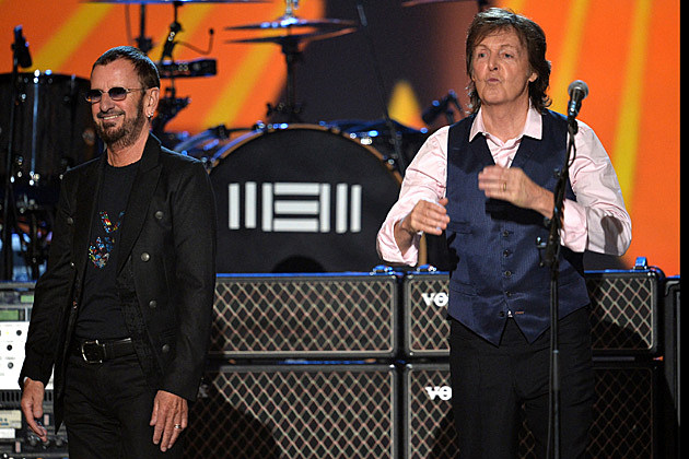 Paul McCartney Ringo Starr