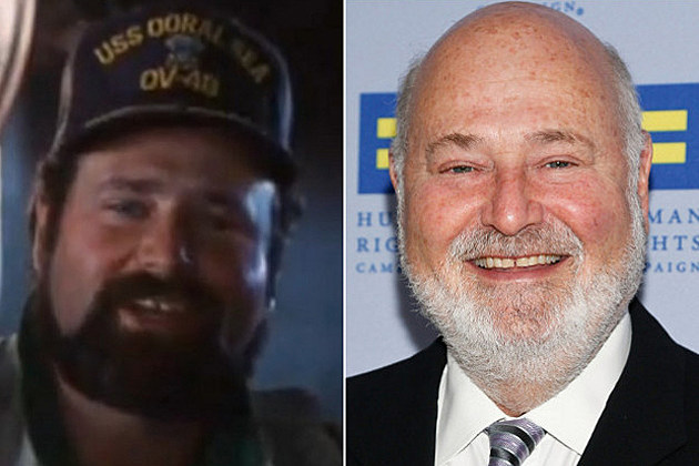 Rob Reiner Spinal Tap Then and Now