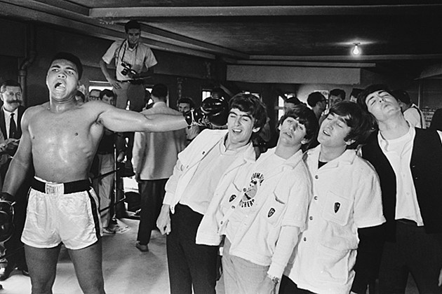 The Beatles Cassius Clay