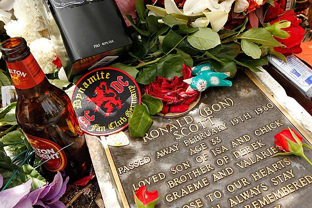 Bon Scott's Grave