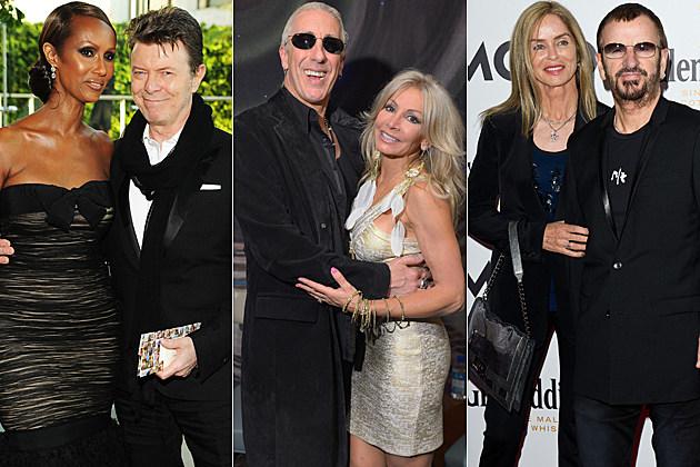 Iman David Bowie Dee Snider Suzette Snider Barbara Bach Ringo Starr