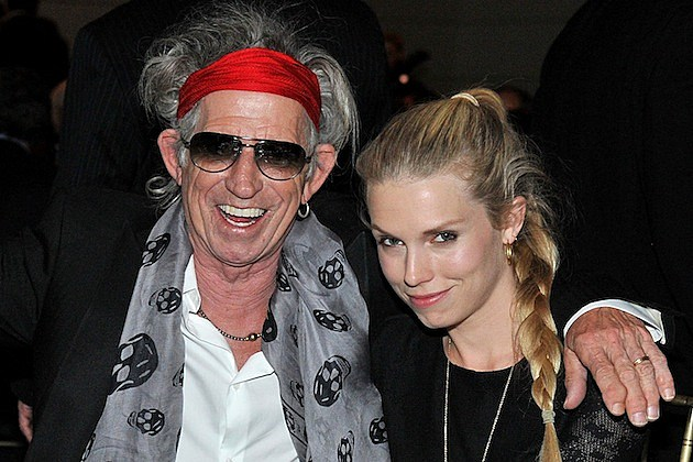 Keith Richards Theodora Richards