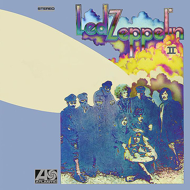 Led Zeppelin Ii Album Cover Atlantic led zeppelin