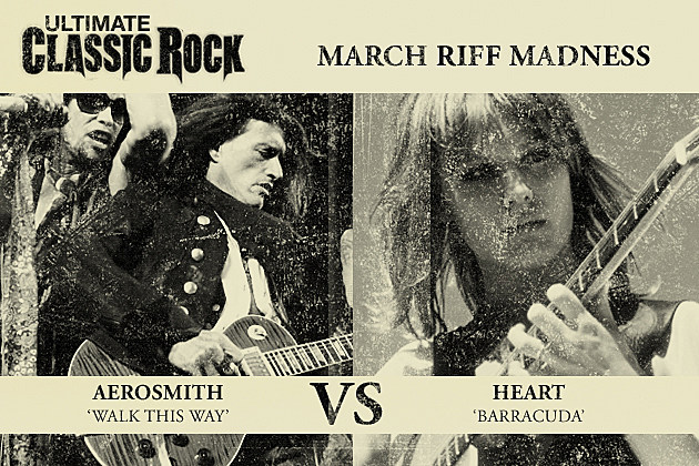 Barracuda Walk This Way March Riff Madness