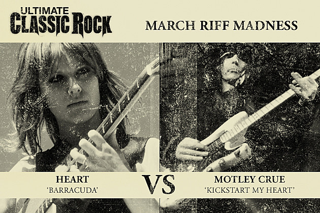 Barracuda Kickstart My Heart March Riff Madness