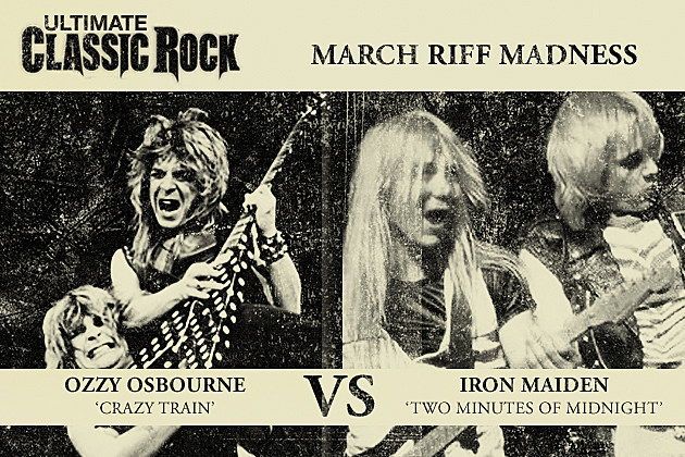 March Riff Madness Crazy Train Two Minutes to Midnight