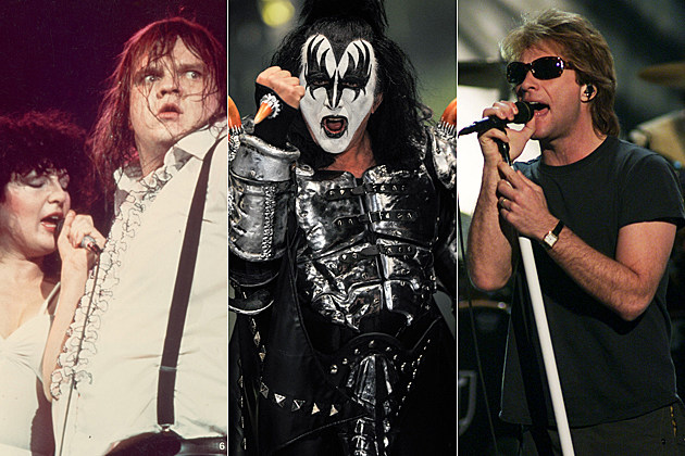 Karla de Vito Meat Loaf Gene Simmons Jon Bon Jovi