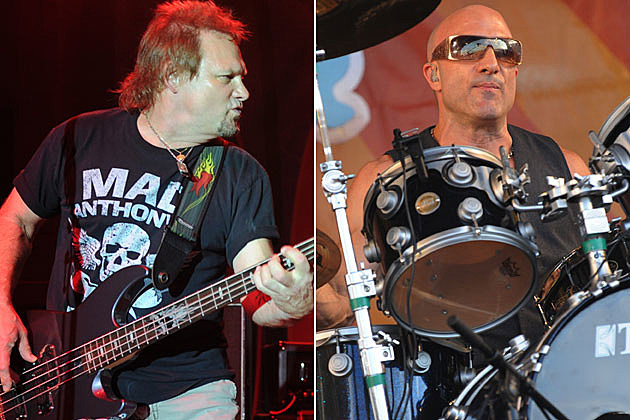 Michael Anthony and Kenny Aronoff