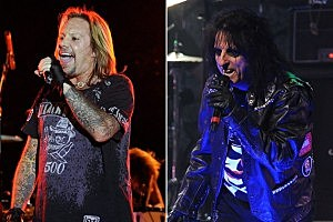 Motley Crue and Alice Cooper
