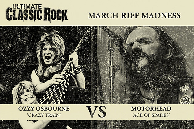 Crazy Train Ace of Spades March Riff Madness