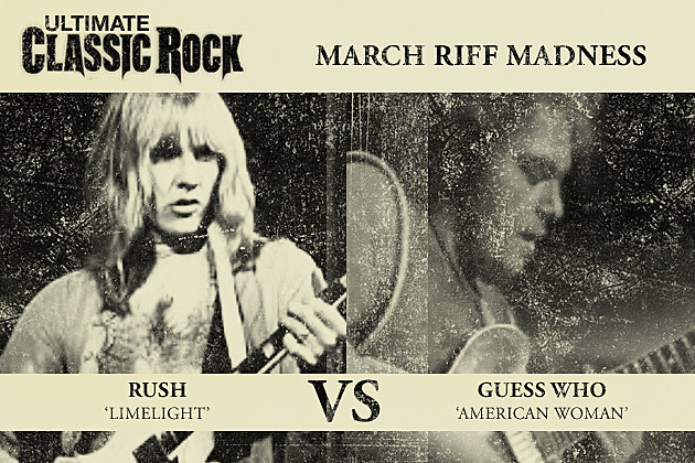 Rush Guess Who March Riff Madness