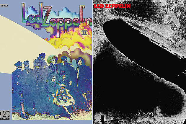 Led Zeppelin Box Set Album Covers