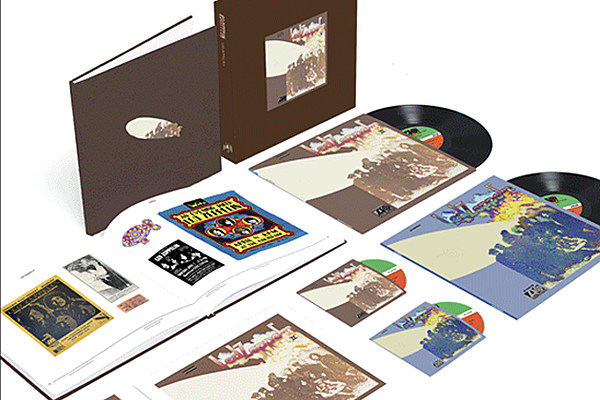 led zeppelin announce box set editions of first three albums
