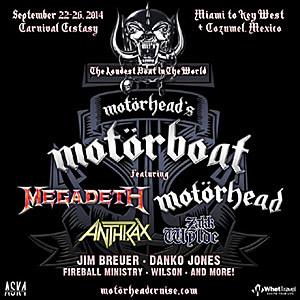 Motörhead's Motörboat Motorheadcruise
