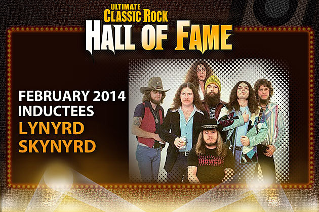 Lynyrd Skynyrd Ultimate Classic Rock Hall of Fame