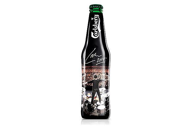 Lars Ulrich Carlsberg beer