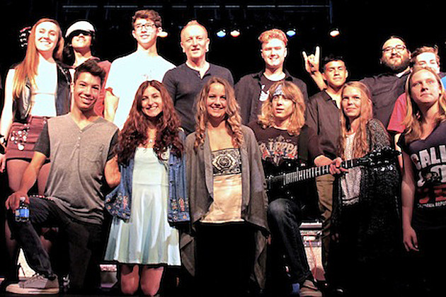 Phil Collen & Students