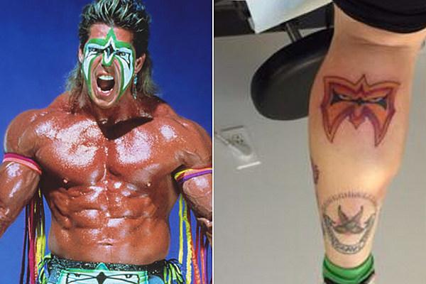 Steven tyler 39 s daughter gets an ultimate warrior tribute for Steven tyler tattoos