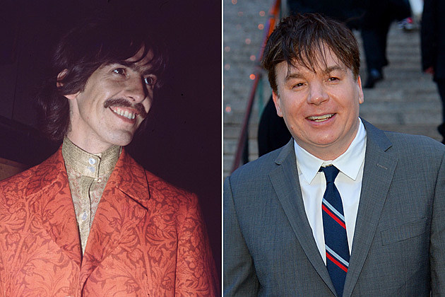 George Harrison Mike Myers