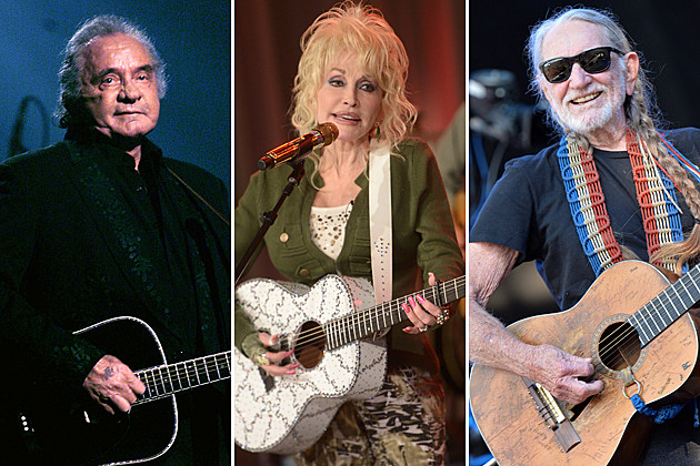 Johnny Cash Dolly Parton Willie Nelson