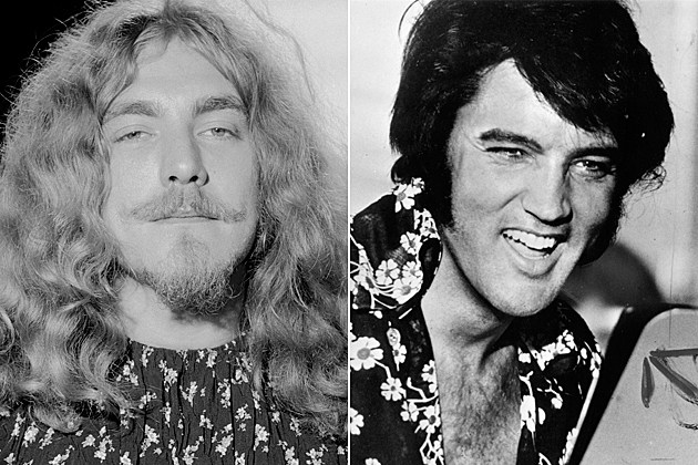 Led Zeppelin Elvis Presley