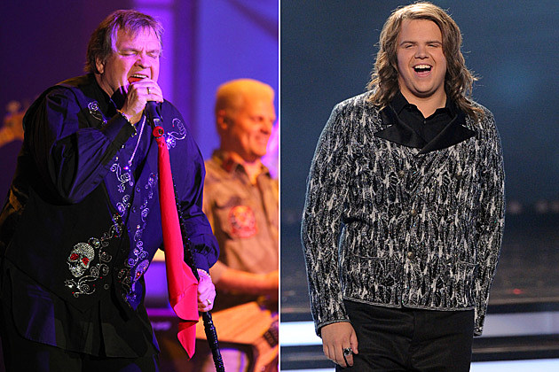 Meat Loaf Caleb Johnson