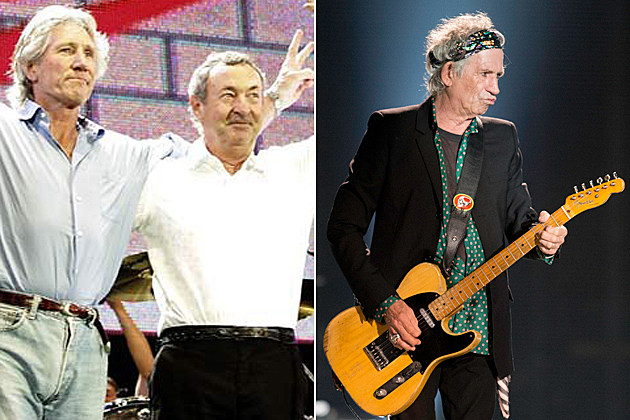 Pink Floyd Rolling Stones