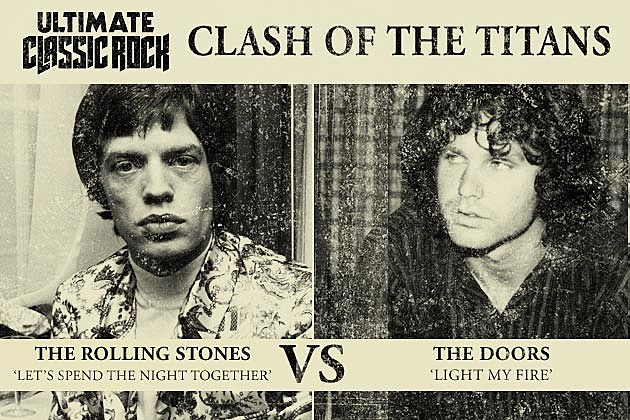 In Clash of the Titans this week we\u0027re putting up two songs from 1967 that caused controversy \u2014 and classic rock history \u2014 when their bands performed them ...