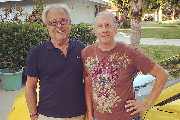 Mick Jones and Dennis Elliott