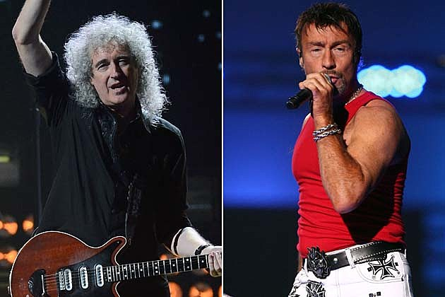 Brian May Paul Rodgers