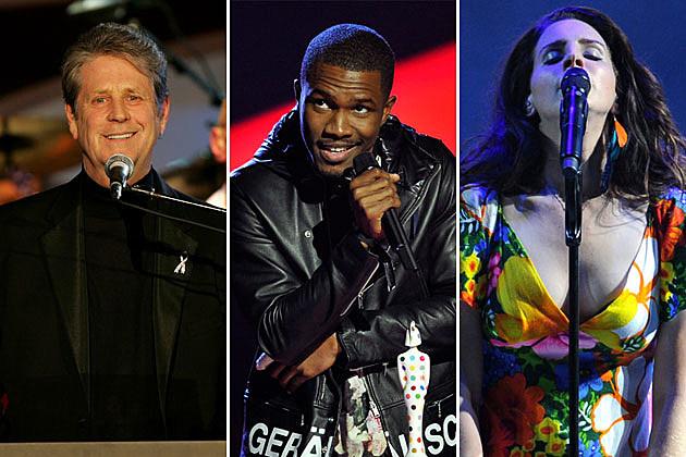 Brian Wilson, Frank Ocean, Lana Del Rey