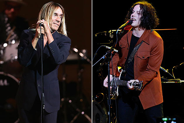 Iggy Pop and Jack White